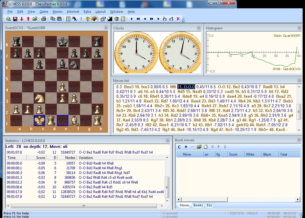 Click to view ChessPartner 6.0.4 screenshot